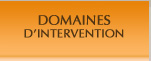 DOMAINES D'INTERVENTION